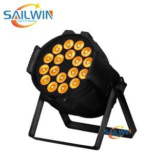 Sailwin Led Light Par 18x18w Rgbwa Uv 6in1 Alto Brilho IP33 Led Par Luz Dmx Luz de Palco
