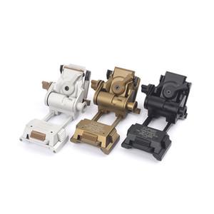 Casco Wilcox Tipo L4G24 CNC NVG Montaje táctico Casco Marco de aluminio Montaje para visión nocturna Accesorios tácticos