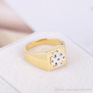 2020 Brass Ring materiale semplice nelle donne d'oro e d'argento di stile orecchino ad anello di monili di nozze partita night club PS6667 trasporto di goccia