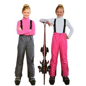 Kinder Winterskihosen Wasserdicht Mädchen Warm Jumpsuits Junge Schneehose 8 10 12 Jahre Kinder-Snowboard-Baby Outdoor-Overall T200103