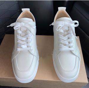 Top Design Low Cut Rantulow Casual Flats Zapatos inferiores rojos para hombres y mujeres Brand Party Designer Sneakers Famous Walking - EU35-46