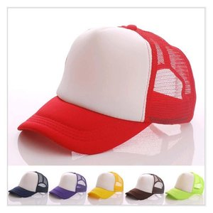 Cheaper price Adult basehats Wholesale Customized Net caps LOGO printing advertisement snapback baseball Candy Color Cotton Peaked hat