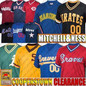 Jersey de béisbol de Bo Jackson Jersey Ken Griffey Jr jerseys Robin Yount Dale Murphy Rickey Henderson Jackie Robinson Daulton Vintage personalizada