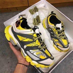 2020 الجديد الثلاثي S المسار 3.0 الاحذية الإصدار 3 تيس جمعه ماي مصمم النساء الرجال الأحذية الرياضية حذاء رياضة 36-45 hococal