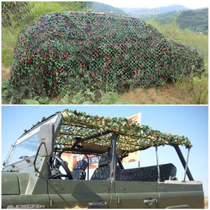 Camping Camo netto 2x3m Woodland Jungle Army Training Camouflage Rete da pesca Shelter Nascondi Rete Sun Shelter
