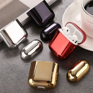 PC Earphone For airpod case Transparent Color Hard Leather luxury designer airpods cases Protective airpods pro case airpod pro case