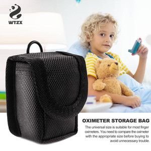 Портативный оксиметр Protection Case Bash Bag Oximeter Storage Bag Anti-Shock Case Case Pougher для импульсного оксиметра