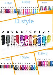 Разноцветный паровой алюминиевый наконечник для капель 510 810 Наконечник для капель Плоский мундштук для мундштука Разноцветные наконечники