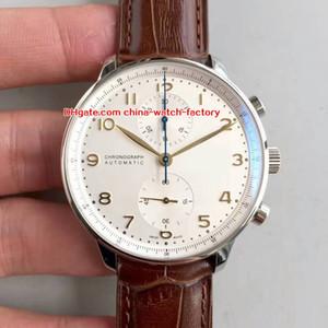 5 stile best seller ZF 41mm portoghese IW371402 IW371417 cronografo funzionante CAL.79350 movimento automatico orologio da uomo orologi