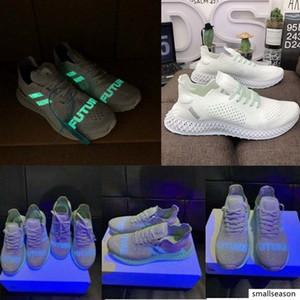 2019 fluorescenza alphaedge 4d marca scarpe da ginnastica consorzio corridore inv x Daniel Arsham futurecraft 4d Stampa limite scarpe da corsa globali 40-45