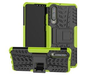 2019 적용 가능한 새로운 Creative Digital 액세서리 Huawei P30 Cell Phone Case 타이어 Ribbon Bracket Anti-fall 보호 칼집 Customization