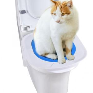 애완 동물 화장실 플라스틱 고양이 화장실 트레이너 애완 동물 훈련 화장실 훈련 키트 놀이 핫 핫 Y19061901