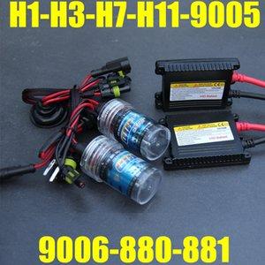H11 55W xenon H11 HID for car Headlight bullbs H1 H3 H7 H8 H9 H10 H11 9006 HB4 880 881 H27 4300K 6000K 8000k H7 HID xenon kit