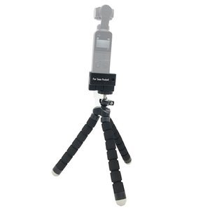Mini Tripod Stand Base Mount Adapter Accessories Tripod Selfie Stick Extension Fxed Bracket for DJI OSMO Pocket