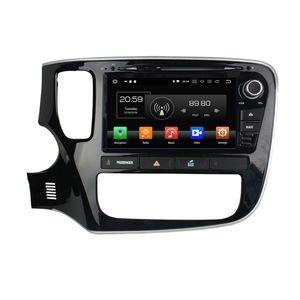 "Octa Core 2 din 8 ""Android 8.0 Автомобильный DVD Радио GPS для Mitsubishi Outlander 2013 2014 2015 Bluetooth WIFI IPS Экран 4 ГБ RAM 64 ГБ ROM"