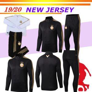 بدلة رياضة كرة القدم الجزائرية نجمتان MAHREZ BRAHIMI BOUNEDJAH 19 20 بدلة تدريب الجزائري JERSEY Survetement FOOTBALL SHIRTS