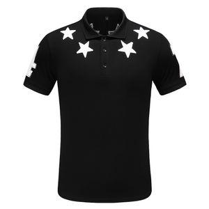 2019 Поло Рубашка Твердые Рубашки Поло Мужчины Роскошные Рубашки Поло с коротким рукавом мужская Основной Топ Хлопок Поло Для Мальчиков Марка Дизайнер Polo Homme P89