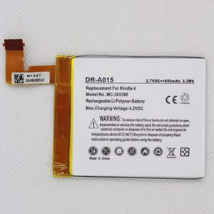 DR-A015 890mAh battery for Kindle 4 5 6 D01100 515-1058-01 MC-265360 S2011-001-S battery