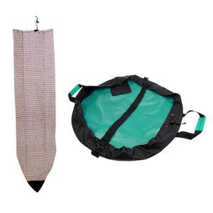 1 Набор 6ft Surfboard Полосатого Носок Обложка + Surfing Гидрокостюмы пеленание / Водонепроницаемый сухой мешок