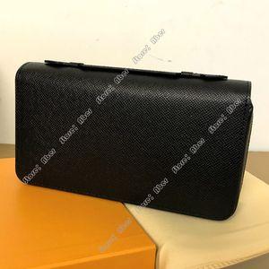 Aber Zippy XL Wallet Top Qualität Beliebte Customization Frauen Mappen Fall Schwarze Handtasche Frau flinke Geldbörse aus echtem Leder-Pass-Halter Kupplung