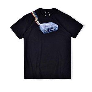 2020 Ins Hot Spring Summer American Travis Scott JACKBOYS Game Machine Tee Skateboard Mens designer t shirt Women Street Casual Tshirt