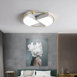 북유럽 최소한의 성격 LED 천장 램프는 사각 라운드 LED 천장 조명 색 밍 아크릴 침실 조명 I251 추천