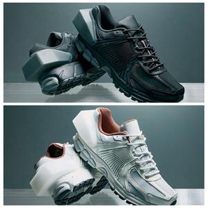 Orijinal Kutusu ile 2019 Abartılı topuk soğuk Duvar x Vomero 5 Nefes Balck BEYAZ Maraton koşu ayakkabısı spor ayakkabı