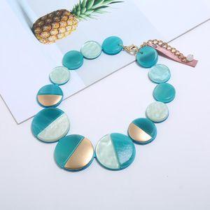 Cute fashion choker rope chain necklace women gothic colar collares de moda 2020 vsco girl boho jewelry collier kolye collar