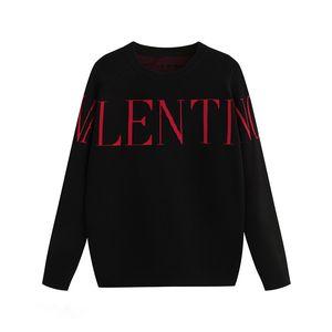 Mens Felpa con cappuccio Maglione Casual Brand Swearshirt Loong Manica Uomo Donne Couple Pullover Lettere Curve Style Style Style