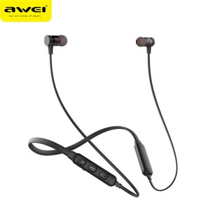 Awei G10BL 4.2 Stereo Bluetooth Sports Earphones Hands Free Neckband Wireless Earbuds support Answering Phone