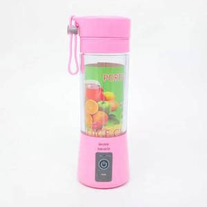 2019 Nova Portátil Elétrica Fruta Juicer Cup Vegetal Citrus Blender Extrator De Suco De Gelo Triturador com Conector USB Recarregável Juice Maker