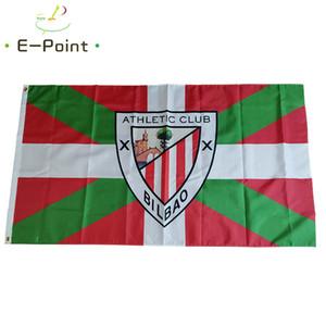 Spagna La Liga Athletic Bilbao Club 3 * 5ft (90 * 150cm) Poliestere bandiera Banner Paesi Bassi decorazione di volare a casa giardino bandiera regali festivi