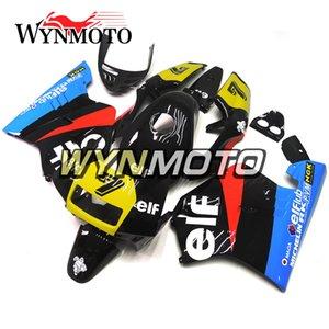 Honda NSR250R-SP Için tam Fairing Kiti NC21 P3 1990 1991 1992 1993 NSR250 NC21 90 91 92 93 ABS Plastik Motosiklet Elf Siyah Mavi Sarı Hull