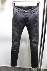 Neue Ankunfts-Designer Herren Jeans Wiederholte Gewaschene Falte Art-Gs Jeans-Mode-Männer Jeans-dünne Motorradfahrer Causal Hip US-Größe 29-40 Hop