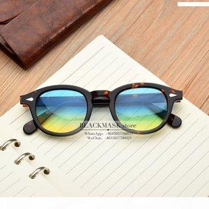 JackJad MOSCOT nuovo modo Johnny Depp Lemtosh occhiali da sole rotondi stile Tint Ocean obiettivo di disegno di marca di esposizione del partito di vetro di Sun Oculos De Sol