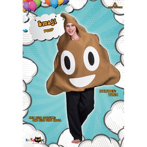 Mens Halloween Clothings Poop Expression Cosplay Mens Party Clothes 2020 New Novel Wear Youth Theme Costumes Cosplay Wear Hot Sale
