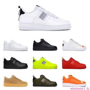 2019 Hotsale leather casual shoes for Men Women utility white black triple white black utility Volt have a day Outdoor Platform Size 36-45