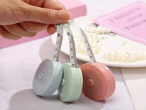 Retractable Measure Tape Body Measurement Belt Tailor Sewing Cloth Craft Centimeter Inch Children Height Ruler