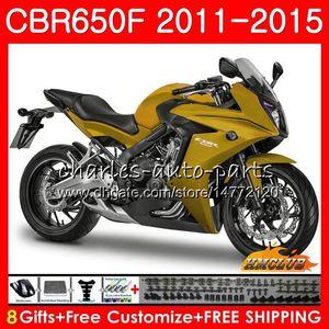 Corpo para Honda CBR650 F CBR650 CBR650F CBR 650 F 42NO.72 CBR650F CBR 650F 11 12 13 14 15 16 2011 glossy 2012 2013 2014 2015 Fairing