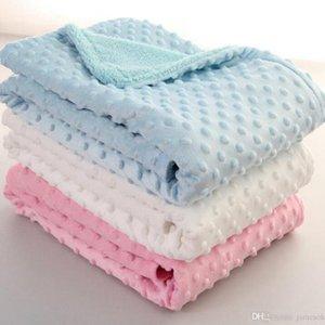 Bebek Bezelye Battaniye 100 70cm Yatak Seti Koltuk Battaniye Çocuklar Yumuşak Köpük Battaniye Çanta DA334 Uyku halılar atın *
