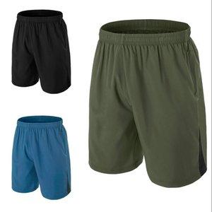 Executando Casual calças cortadas curto novo dos homens Shorts dos homens Stock US Moda Sports Correndo na altura do joelho de Verão ao ar livre masculino Shorts FY9106