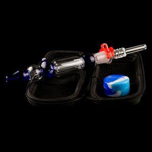 dabpipes168 Honey Dab Straw Mini Glass Water Bongs Honey Pro Mini Glass Water Pipes