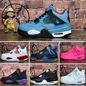 Новые 4 цвета Дети Hardaway про Баскетбольная обувь Детская Hardaway Спортивная обувь мальчиков девочек размер евро 28-35
