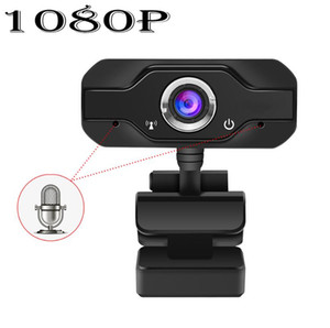HD Webcam embutida dupla Mics inteligente 1080P Web Camera USB Pro Fluxo Camera for Desktop Laptops PC Game Cam Para SO Windows