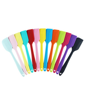 Küçük silikon spatula reçel krem spatula fonksiyonlu katı tereyağı spatula pişirme aracı bakeware kicthen araçları T2I5837