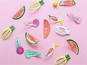 6 style Watermelon mermaid headdress children headwear christmas kids hair accessorieskids baby haipins girls BB hair clips