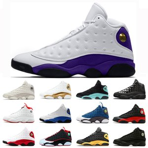 Tasarımcı Mahkeme Mor Erkekler Baksetball 13 13s Hiper Kraliyet He Got Adı Flint Chicago Şapkanız Kara Kedi Eğitmen Sneakers Ayakkabı