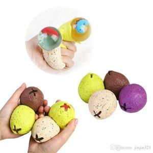 36pcs Anti-Stress-Dinosaurier-Ei Neuheit-Spaß Splat Traube Venting Ball Squeeze betont Reliever Gags praktische Witze Spielzeug lustige Gadgets
