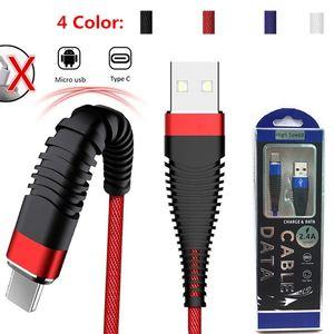 Tipo-C / Cabos Micro sereia 1M / 3FT USB carregamento rápido cabo de dados para Samsung S10 S10PLUS NOTE9 S8 Huawei companheiro de 20 Xiaomi