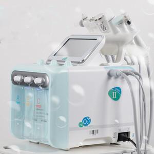 2020 multifuncional 6in1 H2O2 pequena bolha máquina moinho / água pele oxigénio instrumento beleza beleza cuidados da pele facial